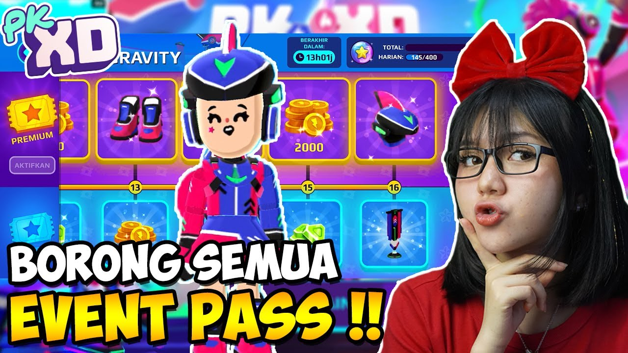 BORONG EVENT PASS AUTO SULTAN !! - PK XD INDONESIA