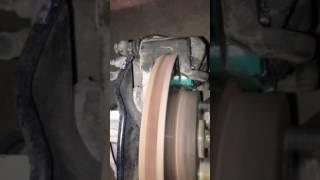 Хруст при торможении Toyota Premio NZT240