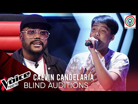 Calvin Candelaria - Nais Ko | Blind Audition | The Voice Teens Philippines 2020