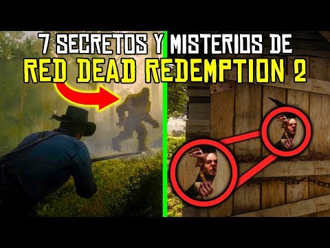7 Secretos y Misterios Escalofriantes de Red Dead Redemption 2