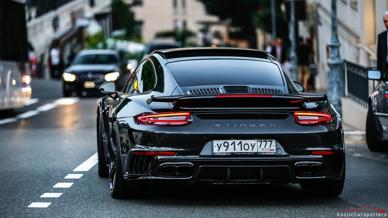 full carbon topcar porsche 991 turbo s stinger gtr accelerations lovely sounds youtube. Black Bedroom Furniture Sets. Home Design Ideas