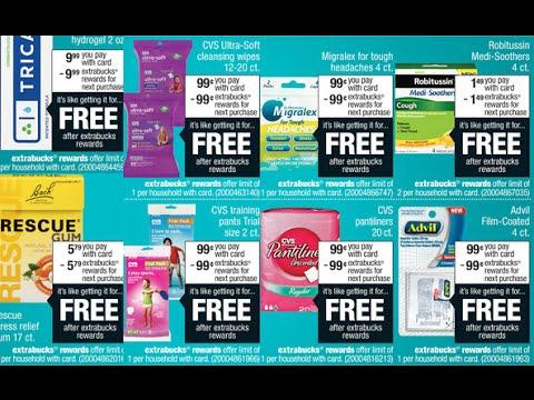 CVS: sales & coupons 11-23-16 4-day sale