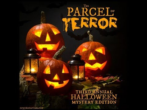 A post Halloween PARCEL of TERROR 0ct. 2017 unboxing
