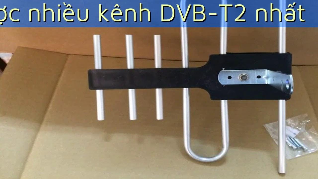 Cách lắp đặt mô hình Anten DVB T2 ngoài trời 2018