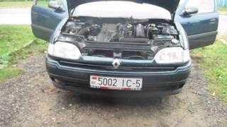 Замена отопителя печки Renault Safrane 2.1 tb.