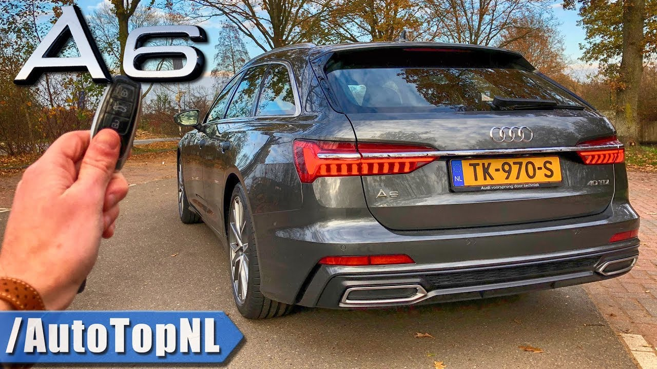 Audi A6 Avant 2019 Review Pov Test Drive On Autobahn Road By