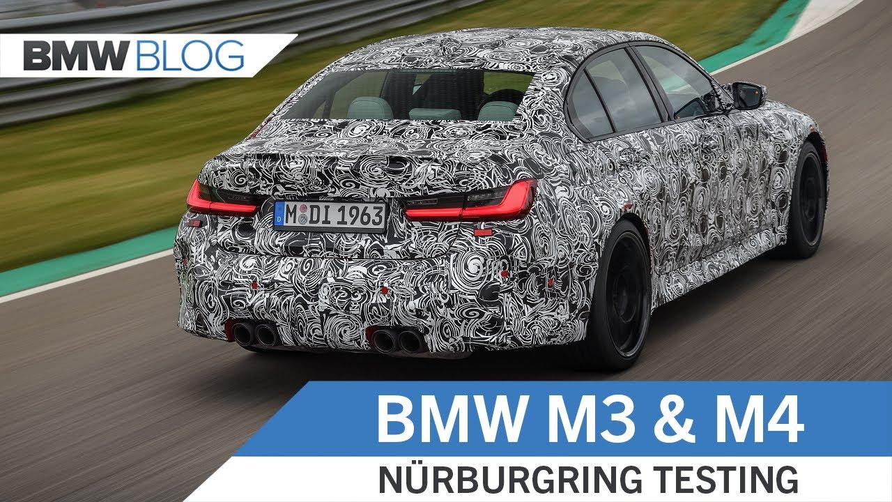 2021 BMW M3 and M4 Prototypes– Nürburgring Testing