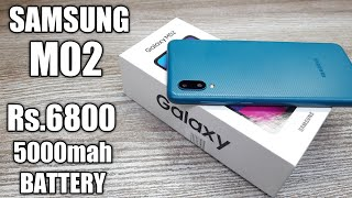 Samsung Galaxy M02 Unboxing - Should You Buy it ?
