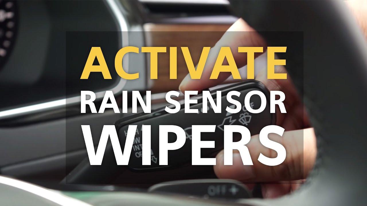 Activate Your Rain Sensor Wipers   VW Tips