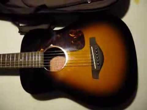 Yamaha jr2 3 4 size guitar youtube for Yamaha jr2 3 4