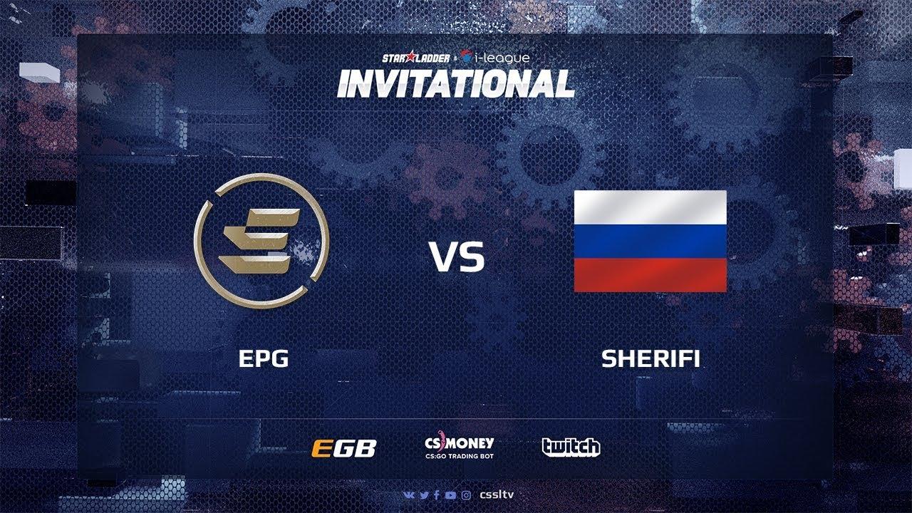 EPG vs Sherifi, map 1 overpass, SL i-League Invitational Shanghai 2017 CIS Qualifier