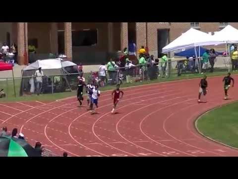 14yr Drew Jackson 23.53s 200m State Championship 2015