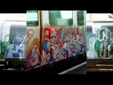 Old School London Tube Graffiti