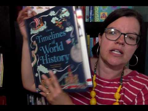 Usborne's Timelines and Encyclopedia of World History--CC Cycle 1-3