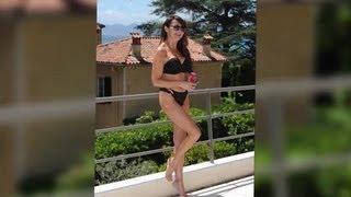 Lizzie Cundy Shows Off Her Bikini Body in Cannes - Splash News   Splash News TV   Splash News TV