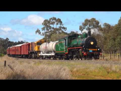 BB18 ¼ 1089 - The Dawnie Express - Roma to Charleville - 9/09/2016