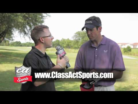 Class Act Sports Interviews Brian Griese @ Warrick Dunn Family Foundation Golf Tournament
