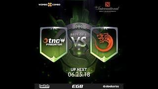 TNC Predator vs TNC Tigers Game 2 l The International 2018 SEA Qualifiers Losers' Finals