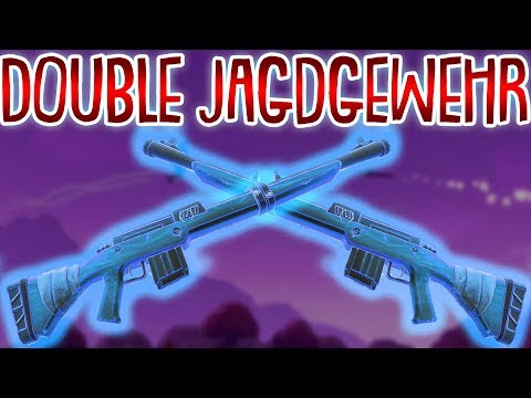 1 SCHUSS MONSTER! | Double Jagdgewehr Trick | Fortnite Battle Royale