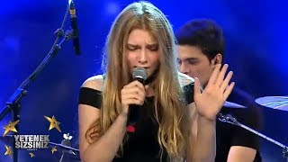 Aleyna Tilki yarı final performansı! | Yetenek Sizsiniz Türkiye