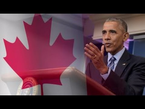 Obama teams up with Canada to cement green legacy