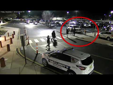 Surveillance video of the Deptford Mall assault that injured 3 teenagers (annotated)