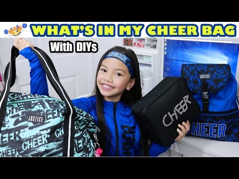 WHAT's IN MY CHEER BAG!