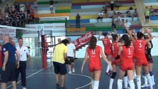 03-07-2014: tdrvolley2014, il punto finale della semifinale femm Piemonte-Toscana