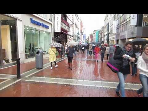 Grafton Street in Dublin, Ireland, Northern Europe