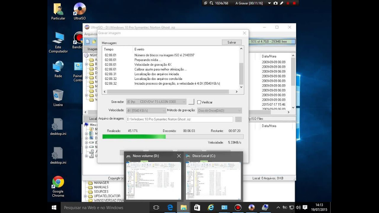 Ghost 2003 and Windows 7