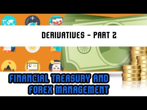 Financial Treasury & Forex Management | Derivatives - Part 2 | Lecture 27