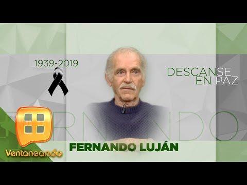 ¡MURIÓ EL PRIMER ACTOR FERNANDO LUJÁN! Falleció en su casa de Puerto Escondido a los 79 años.