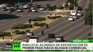 Brasil y Argentina acuerdan estrechar sus lazos comerciales