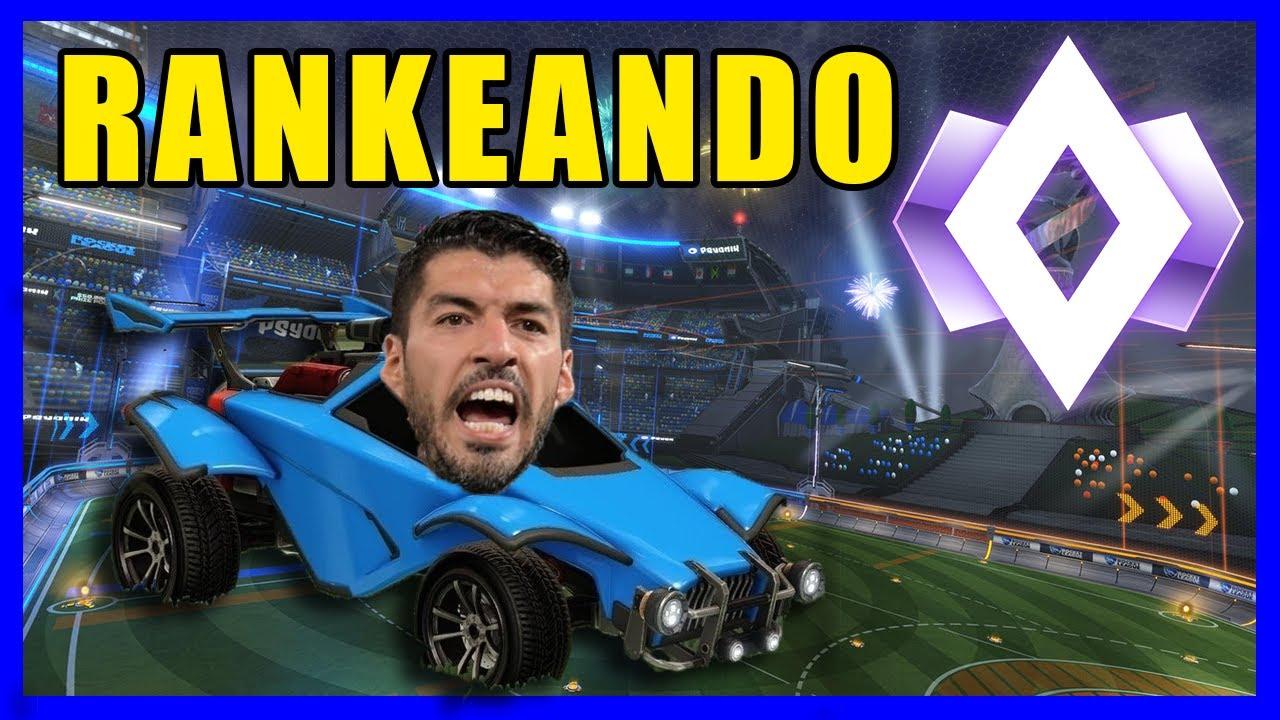 El MagoRichard Rankeando con Luis Suarez | Rocket League