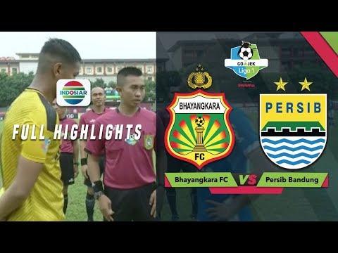 Bhayangkara FC (1) vs (2) Persib Bandung - Full Highlight | Go-Jek Liga 1 bersama Bukalapak