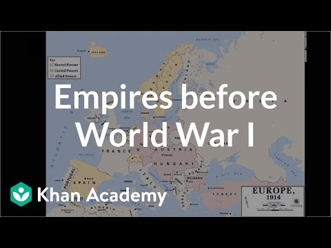 Empires before World War I