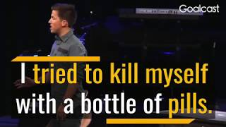 I Tried To Kill Myself With A Bottle of Pills - Josh Shipp Motivatonal Speech