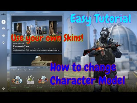 How to Change your panorama Character Model on Cs Go