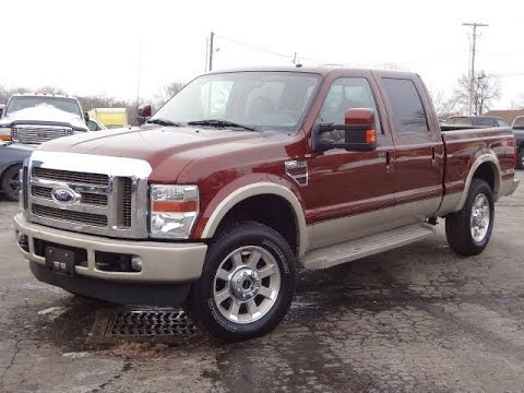 2008 ford f250 king ranch 4x4 6.4l powerstroke diesel sold!!! very