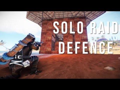 Solo Raid Defence & Memes