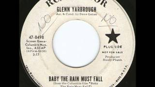 Glenn Yarbrough - Baby The Rain Must Fall