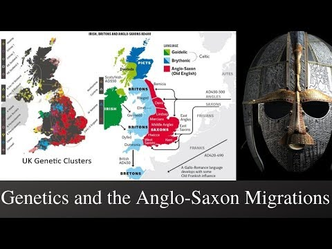 Genetics And The Anglo-Saxon Migrations
