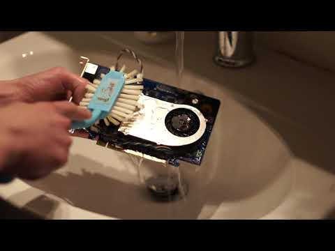 Cleaning my graphics card