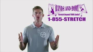 FREE BAND- Free Personal Training Fitness Video by Dustin Conrad BandsAndBody.com