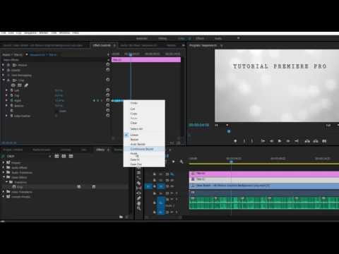 Tutorial Premiere Pro - Cara Membuat Efek Tulisan Ketikan(Type writer)