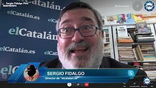 """Sergio Fidalgo, Guerra civil separatista: """"¡Junqueras, traidor, púdrete en la prisión!"""""""