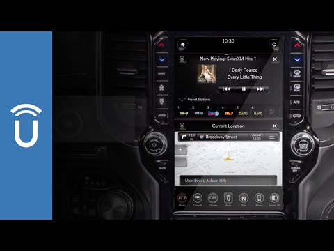 Quick Tip:  Split Screen Display  |  2019 Ram 1500 with 12-inch Display