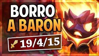 ¡BORRO A BARON Y AL TEAM ENEMIGO! | AMUMU INFERNAL | League of Legends