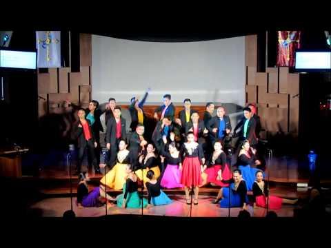 Happy Medley - UP Concert Chorus - UpBeat:Remix