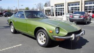 1973 Datsun 240Z 4spd Start Up, Exhaust, and In Depth Tour